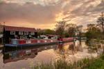 Dockyard Sunset. by Sunset-River-Photo