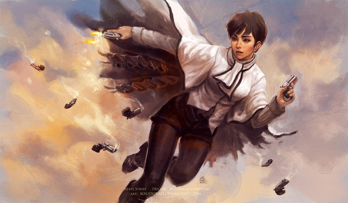 Anime/manga Fan Art - Página 2 Meryl_stryfe_by_solidgrafi-d4f4nin
