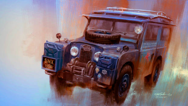 Oxford first overland