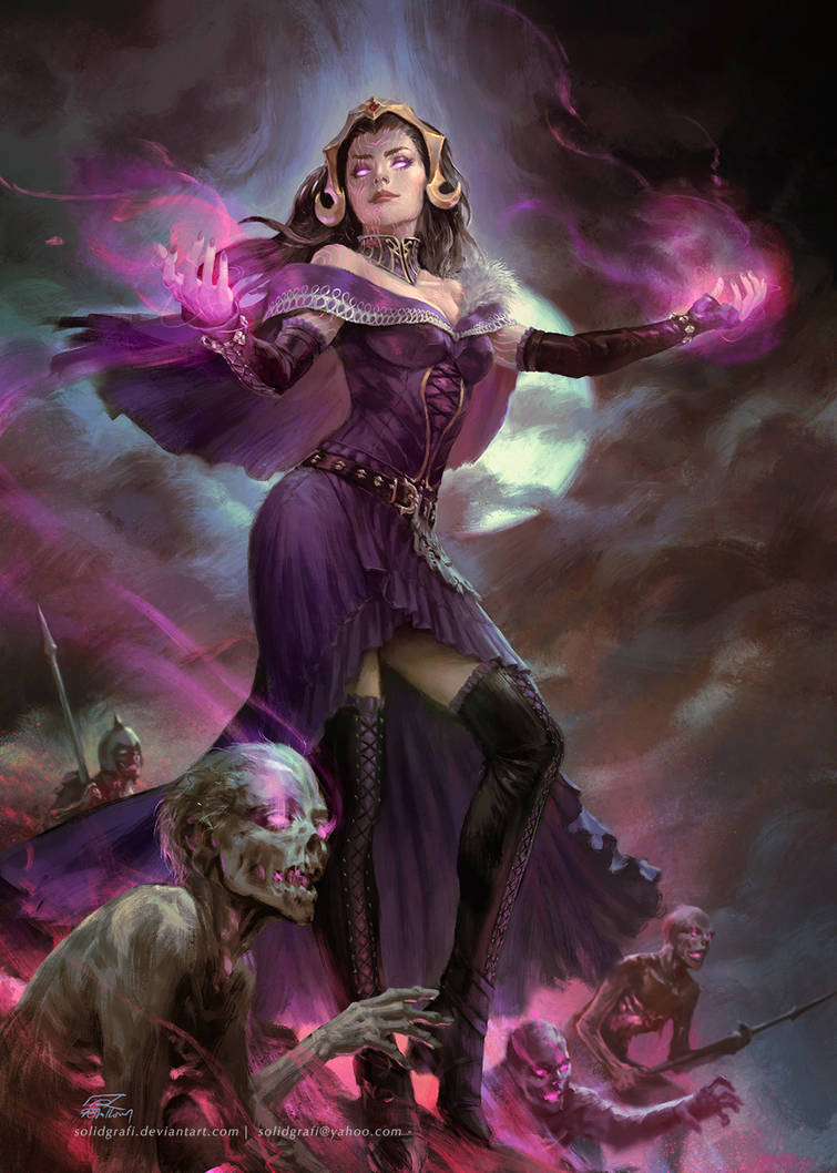 Liliana Vess by Quirkilicious on DeviantArt