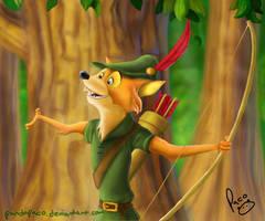Robin Hood by pandapaco