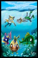 Snorkel by pandapaco