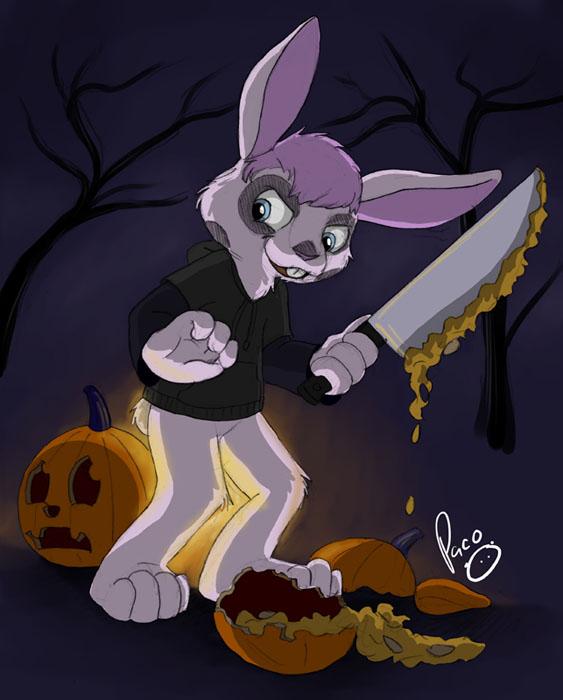smashing pumpkins by pandapaco