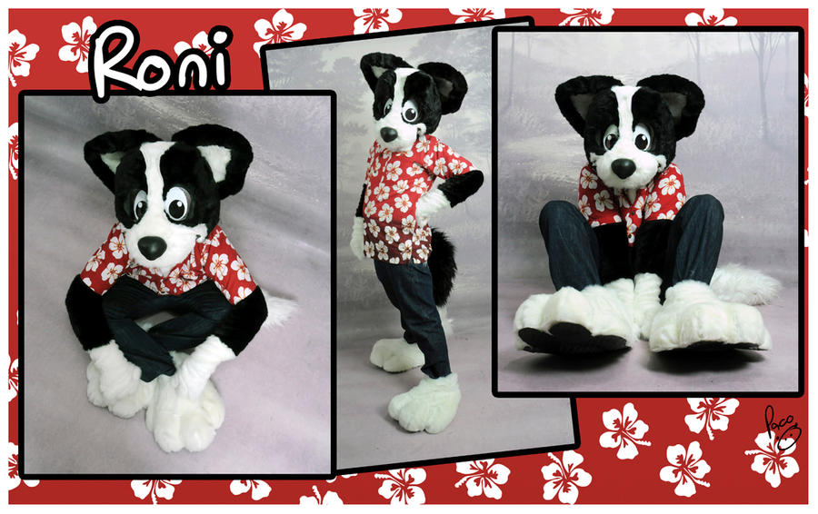 Roni's fursuit by pandapaco