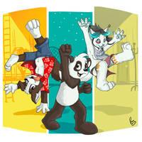 Roni Panda Zhiibe's fest by pandapaco