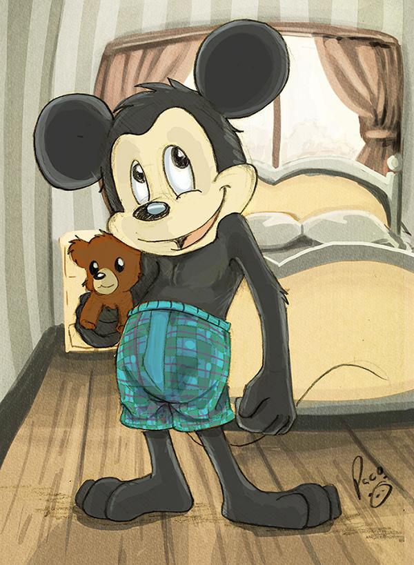 Mickey by pandapaco