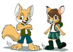 Furcamp characters