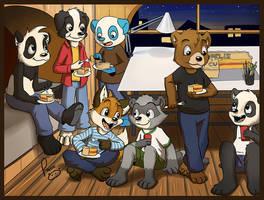 impromptu celebration by pandapaco
