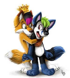 Royal hug