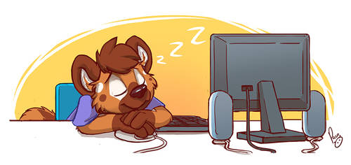 Stay up late by pandapaco