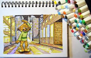 Jinx cat by pandapaco