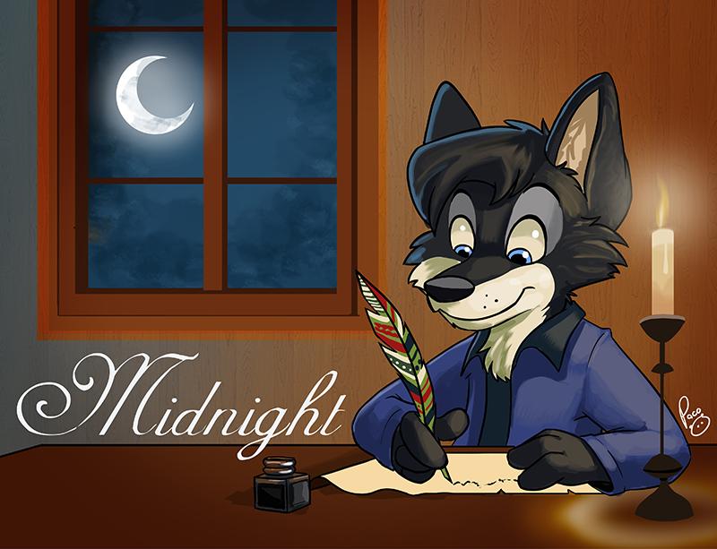 MFF badge: Midnight by pandapaco