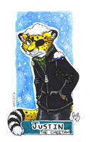 MFF badge: Justin the cheetah by pandapaco