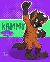 TFF badge: Kammy by pandapaco