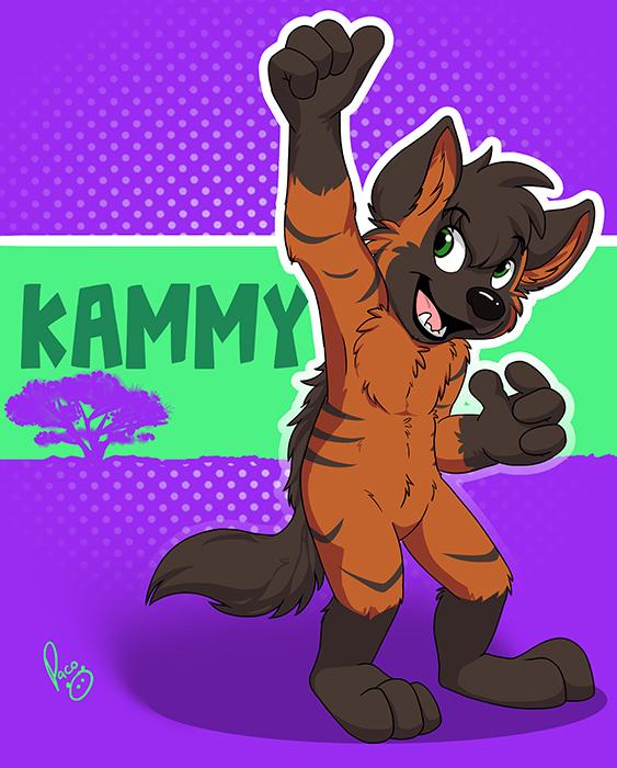 TFF badge: Kammy by pandapaco