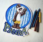 BLFC badge: Panda
