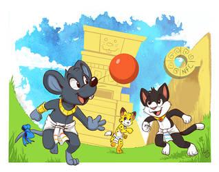Ballgame by pandapaco