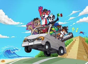 Mexico Roadtrip by pandapaco