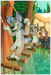 Youth Fursuit Games by pandapaco