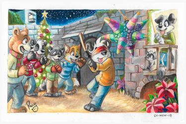 Christmas 2018 by pandapaco