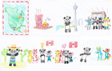 FE2ME doodles by pandapaco