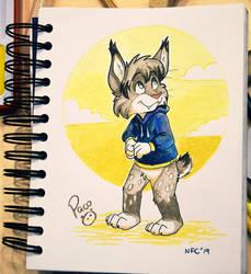 Mikuro Lynx by pandapaco
