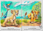 Coloring book with Pro Colored Pencils (LionKing)