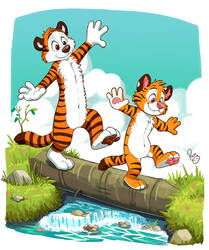 Axel and Hobbes