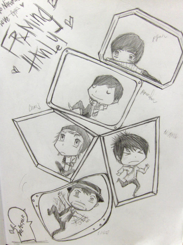 Framing Hanley Framed Chibis by benevolent-angel94 on DeviantArt