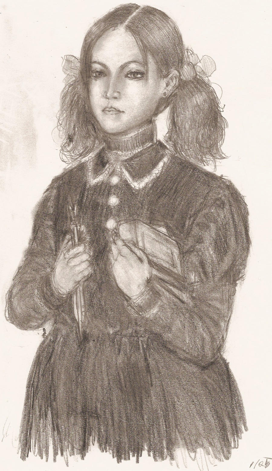 esther the orphan by benevolent-angel94 on DeviantArt