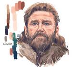 Digital Painting Study: Ragnar