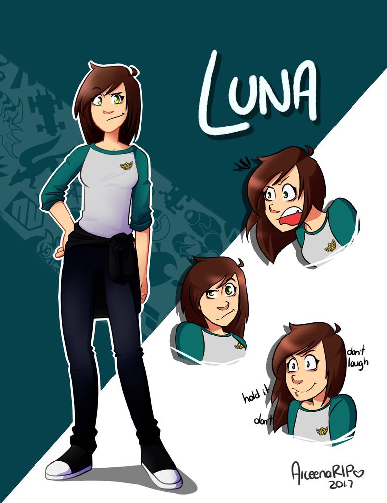 Luna (OC chic) by xOtakuStarx