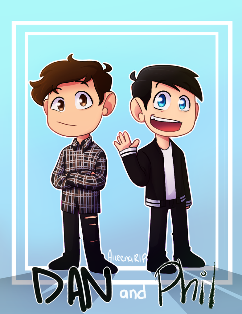 Dan and Phil ! by xOtakuStarx
