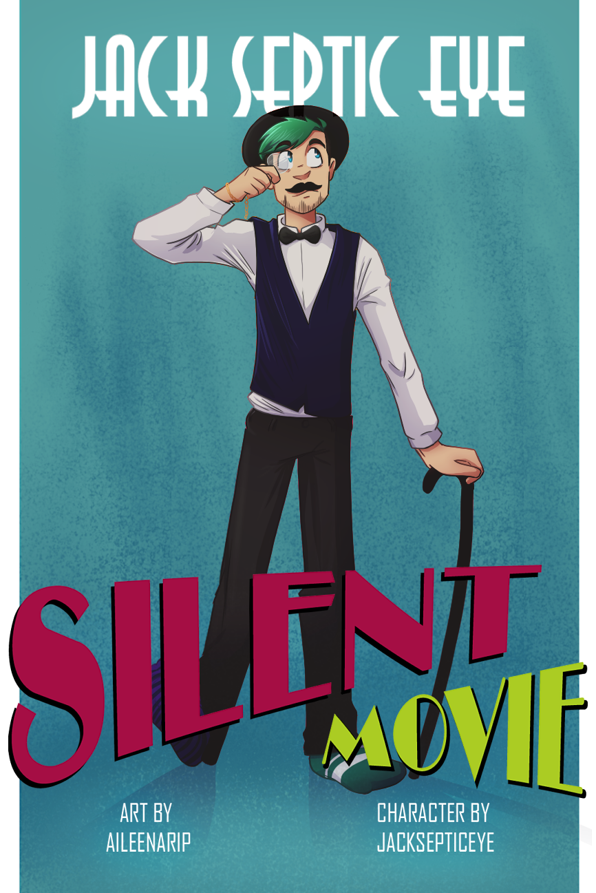 Jack's Silent Movie | Poster by aileenarip