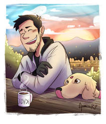 Mark and Chica! by aileenarip