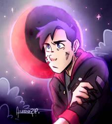 Moon   Oc Illustration by aileenarip