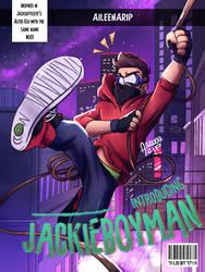 Jackieboyman   Introducing Issue (fake cover) by aileenarip