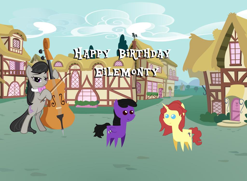 Happy BDay Eilemonty by jaedenwalton