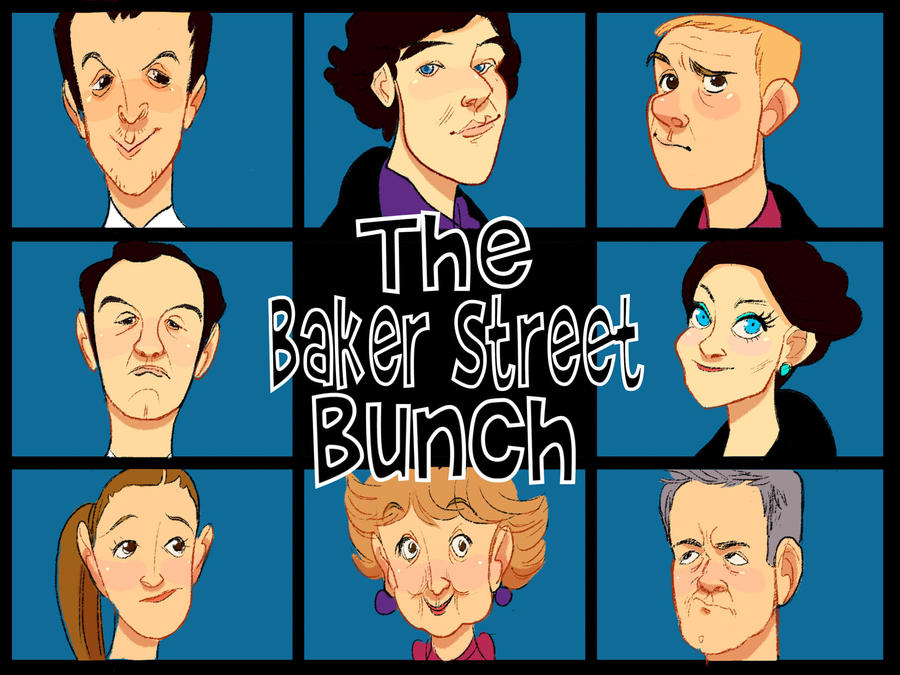The Baker Street Bunch by pocket-picasso