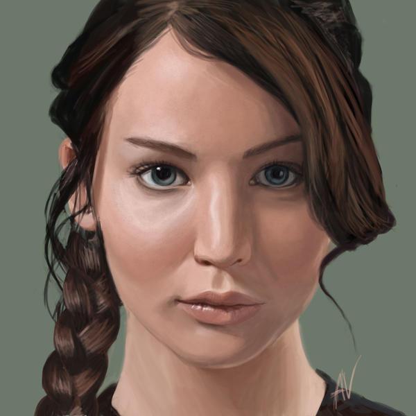 miss katniss everdeen by iMMuhUnic0rn