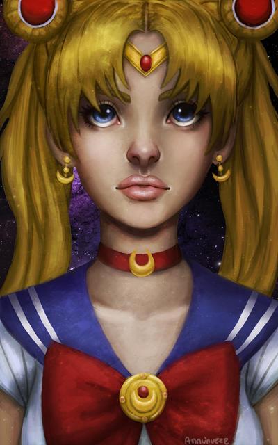 Pretty Guardian Sailor Moon by iMMuhUnic0rn