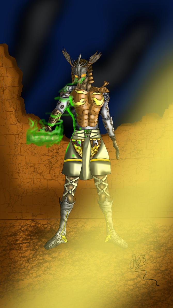 Horus, god of war by Avrileur83