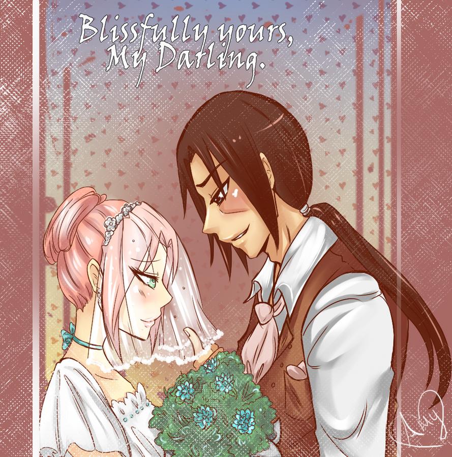 Itasaku: Wedding by AmyNinkai