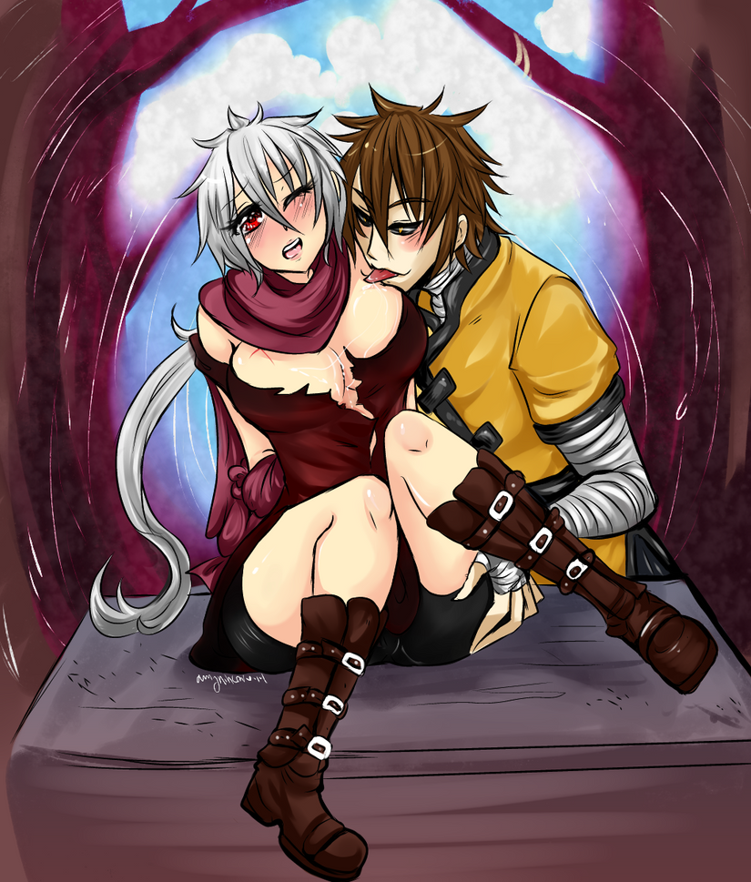 Erotic   For Shin by AmyNinkai