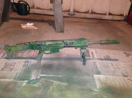 Magpul Masada, new paint by T33zac
