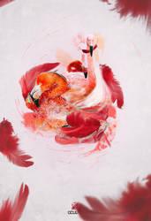 Flamingo dance by slayyou2