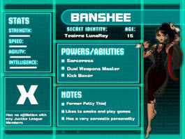 Young Justice OC Banshee by ShamanxPhantom309