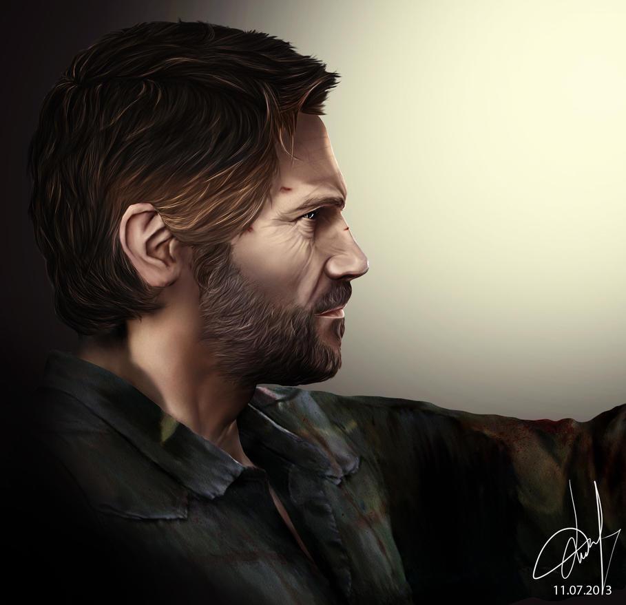 Joel. The Last of Us by Willov on DeviantArt