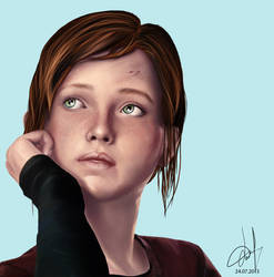 Ellie. The Last Of Us by Willov