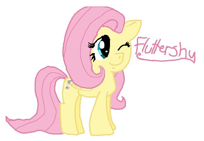 Fluttershy by Slinkiederp